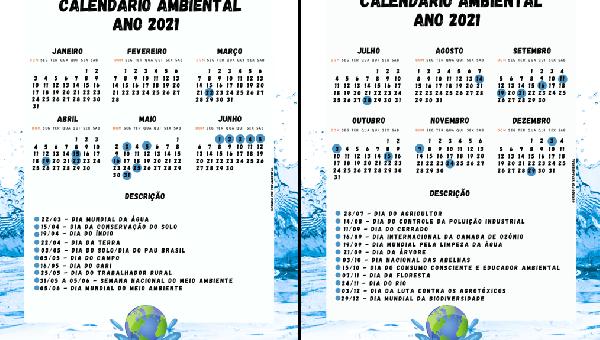 Calendário Ambiental-2021